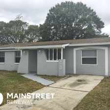 Rental info for 8510 Blue Ridge Drive in the Tampa area