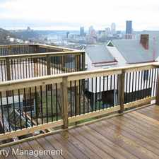 Rental info for 2319 Berg in the Pittsburgh area