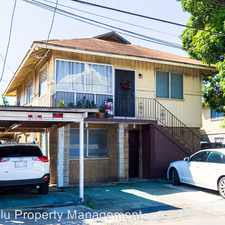 Rental info for ASHF13D - 1 1713 Ashford St.(Downstairs) in the Moanalua area