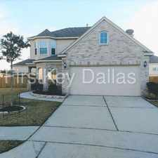 Rental info for 1826 Sun Point Court Humble TX 77396 in the Houston area