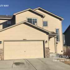 Rental info for 4945 HAITI WAY in the Security-Widefield area