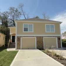 Rental info for Townhome available - Immediately in the Kansas City area