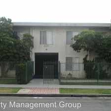 Rental info for 6210 10th Avenue - 14 in the Los Angeles area