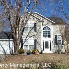 Rental info for 10024 Northwoods Forest Drive in the Charlotte area