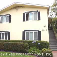 Rental info for 4621 North Avenue in the San Diego area