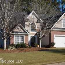 Rental info for 345 Freeman Forest Dr in the Newnan area