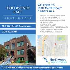 Rental info for 722 10th Ave. E. in the Seattle area