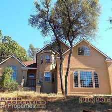 Rental info for 3480 Mira Loma Dr in the Cameron Park area