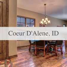 Rental info for Riverfront Finest! Short-term Furnished Luxurio... in the Coeur d'Alene area