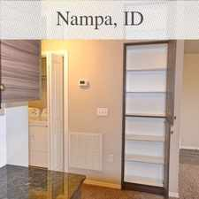 Rental info for Welcome To The Brand New Ridgecrest Apartments! in the Nampa area
