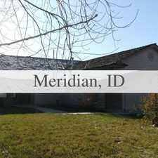 Rental info for House In Move In Condition In Meridian in the Meridian area