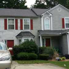 Rental info for 2/2.5 wood exterior townhouse, spacious living room,appliances & parking space available. in the Redan area