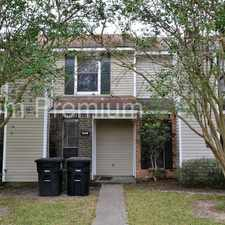 Rental info for Trendy Townhouse Conveniently Located off O'Neal Lane in the Baton Rouge area