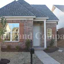 Rental info for Wonderful Home --- BRAND NEW! in the Memphis area