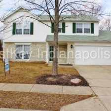Rental info for 10236 East Park Ridge Lane in the Indianapolis area