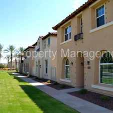 Rental info for Cooley Station! 4 bedroom available in March in the Gilbert area