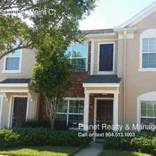 Rental info for 8103 Summer Point Ct in the Jacksonville area