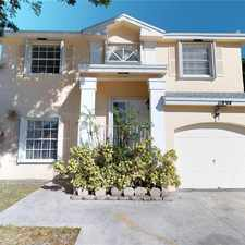 Rental info for 11894 Southwest 102nd Street in the The Crossings area