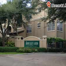 Rental info for 2440 North Blvd # 2450 in the Houston area