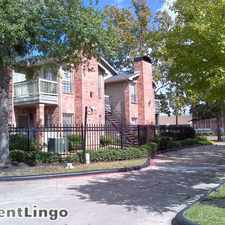 Rental info for 4211 Clay Hill Dr Apt 1342 in the Houston area