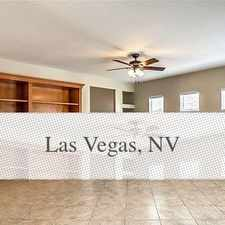 Rental info for 3 Spacious BR In Las Vegas in the Las Vegas area