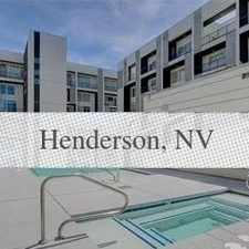Rental info for This Condo Is A Must See! in the Henderson area