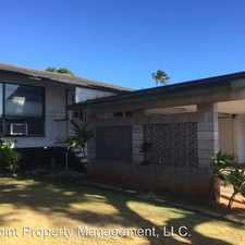 Rental info for 1055 9th Ave. in the Honolulu area