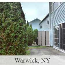 Rental info for Apartment For Rent In Warwick.