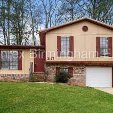 Rental info for Great Home!! in the Birmingham area