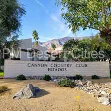 Rental info for 3 Bedroom Rental at Canyon Club Estados