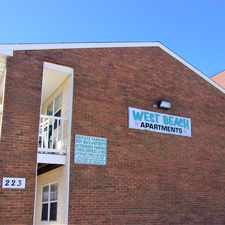 Rental info for West Beach Apartments