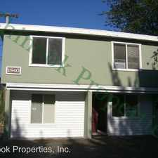 Rental info for 1840 Mill St in the Eugene area