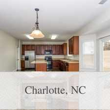 Rental info for Loft For Rent In Mint Hill. 2 Car Garage! in the Charlotte area