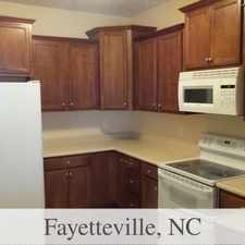 Rental info for Amazing 3 Bedroom, 2.50 Bath For Rent in the Fayetteville area