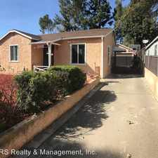 Rental info for 13631 Berg St in the Los Angeles area