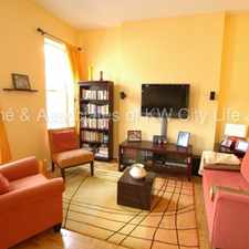 Rental info for Great 2Bed/1Bath with HUGE PRIVATE TERRACE! in the Hoboken area