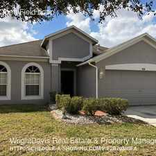 Rental info for 1631 Open Field Loop in the Tampa area