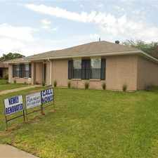 Rental info for 8423 Sugarberry Place Dallas, Texas 75249 in the Mountain Creek area