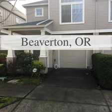 Rental info for Arbor Station 3 Bedroom - Walking Distance To M... in the Hillsboro area
