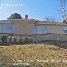 Rental info for 1446 South Frisco Ave in the Tulsa area