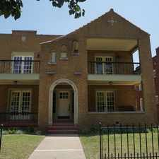 Rental info for 1 Bed 1 Bath Apartment In Jefferson Park Addition in the Oklahoma City area