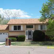Rental info for 7416 Colonial Drive in the Colorado Springs area
