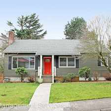 Rental info for 7236 SE Mill St in the Portland area