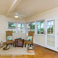 Rental info for 567 Kaneapu Place in the Kailua area
