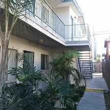 Rental info for 1st floor unit with wall to wall ceramic tile flooring; new paint, clean and move-in ready. in the Long Beach area