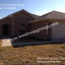 Rental info for 1924 Christopher Drive in the Fort Worth area