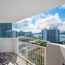 Rental info for 1621 Bay Road in the Miami area