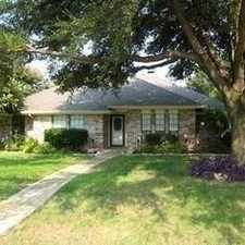 Rental info for Updated 4 Bedroom In The Heart Of Coppell. in the Dallas area