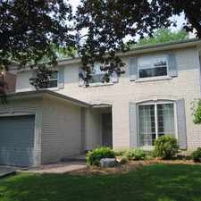 Rental info for 8 Regis Drive in the Markham area