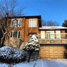 Rental info for 18 Equestrian Court in the Markham area